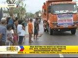 Typhoon survivors in Samar town wait for help