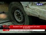 Resident hurt in Navotas grenade blast