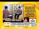 Punto por Punto: Pacquiao, pumalag sa pagpapa-freeze ng kanyang bank accounts
