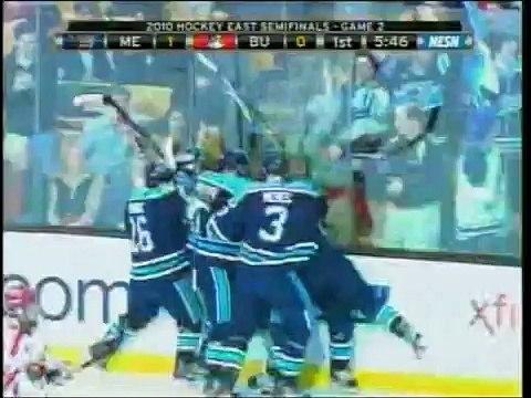 2010 Hockey East Semifinals - Maine 5, Boston University 2 - 03/19/2010