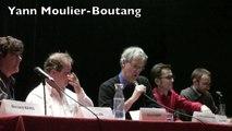 """3-1) Yann Moulier-Boutang (début) au débat """"Penser l'après capitalisme avec André Gorz"""""""