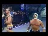 Batista, Rey Mysterio, & Chris Benoit vs JBL, Christian, & Eddie Guerrero WWE Smackdown 2005