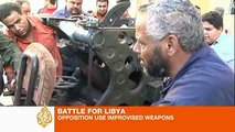 Trucks with tank turrets  home made bombs and a child s toy truck with a mounted machine gun    Welcome to the crazy world of Libyan rebel weaponry   Mail Online