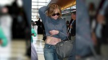Jennifer Lopez, Kim Kardashian & y otros famosos bombardeados con confeti