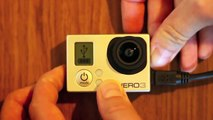 Tips & Tricks : Will The GoPro Hero3 Record While Charging Silver White and Black Edition