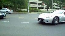 Ferrari California Acceleration onto Highway