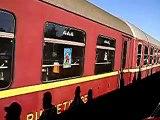 Eröffnungs-Dampfzug auf der Rückfahrt von Pfungstadt nach Darmstadt-Hbf