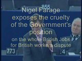 Nigel Farage on British Jobs for British Workers