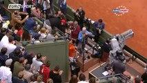 Novak Djokovic va saluer Zlatan Ibrahimović après sa victoire !