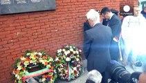 Cérémonie d'hommage aux victimes du drame du Heysel à Bruxelles