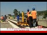 Ethiopia - 10 Addis light rail trams arrived in Addis Abeba