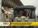 Soldiers, volunteers continue typhoon relief work