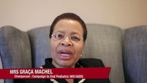 Mrs. Graça Machel Speaks at the International AIDS Conference CEPA Pre-Conference