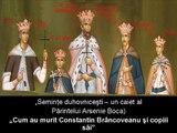 ARSENIE BOCA DESPRE MOARTEA LUI CONSTANTIN BRANCOVEANU SI A COPIILOR SAI