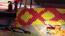 200.000 Domino taşı ile muhteşem bir gösteri