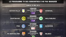 PSG-Auxerre, Barça-Bilbao, Dortmund-Wolfsburg... Le programme TV des matches à ne pas manquer ce weekend !