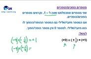כיתה ז - שיעור 35 - כפל מספרים מכוונים.wmv