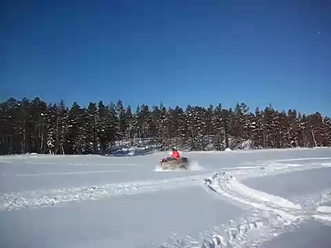 Can-am snow