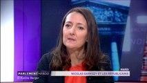 """""""Nicolas Sarkozy abîme la République"""", selon Karine Berger"""
