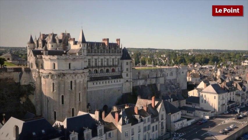 Visite interdite du château d'Amboise #3 : la tour cavalière des Minimes utilisée comme prison.