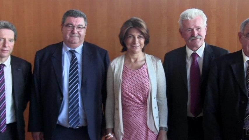 Martine Vassal reçoit les Présidents des autres départements de PACA