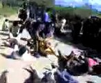 Catamarca: pueblada en Andalgalá. Represión, detenidos, heridos