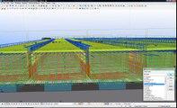 DTSL 4D Virtual model of concrete & reinforcement created using Tekla Structures software