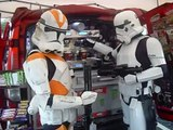 Imperial Storm Troopers making coffee