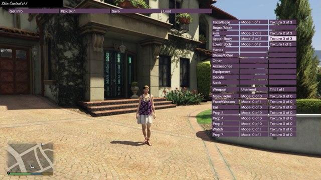Grand Theft Auto V - Mod GTA V - Mod Menu & Skin Control