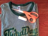 Whitney Sews- T-shirt into Reusable Shopping Bag