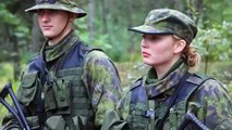 WONDERFUL Fantastic Military Army Women ♥ Female Soldiers from Finland ♥ Naiset intissä