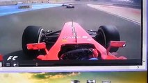 Bahrein GP 2013 - Alonso Onboard: first laps