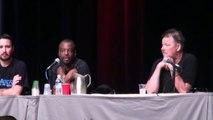 Start Trek TNG Panel Pt 3o7 Levar Burton Jonathan Frakes Wil Wheaton Phoenix Comicon