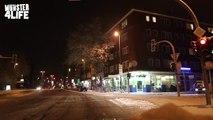 Münster 4 Life - Vom Hafen über den Dom bis zum Aasee im Schnee Winter 2010 - Teil 1
