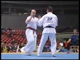 """""""Kyokushin Karate"""" KO (middle & knee kick)"""