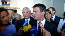 """""""Ce n'est pas ma présence qui symbolise ou non un territoire de non-droit"""", dit Valls à Marseille"""