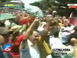 Resistencia hondureña celebra en las calles retorno de Mel Zelaya