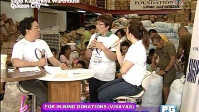 How ABS CBN Foundation distributes relief goods