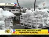 Relief goods arrive in Tacloban