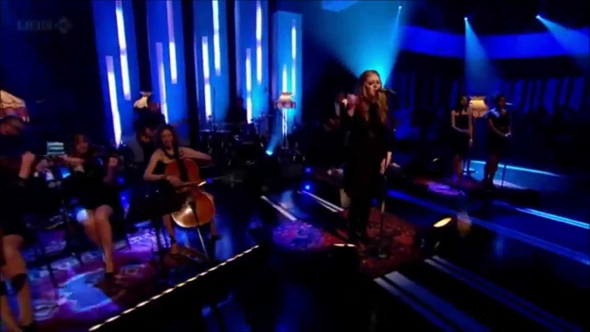 Adele - Set Fire To The Rain (vocals only) - Wow!