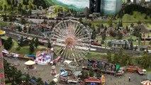 Miniatur Wunderland Hamburg, die gröβte modelleisenbahn der Welt.