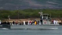 USS Hawaii Arrives at Pearl Harbor