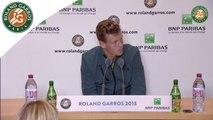 Conférence de presse Tomas Berdych Roland-Garros 2015 / 3e Tour
