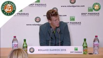 Press conference Tomas Berdych 2015 French Open / R32
