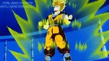 Dbz Goku shows Goten nd Trunks Super Saiyan 3