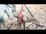 """Rip Posts out of the ground!  Pulling  Posts with Hi-Lift Type Farm Jack and """"Safe Jack"""""""
