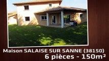 A vendre - Maison/villa - SALAISE SUR SANNE (38150) - 6 pièces - 150m²