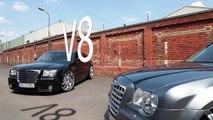 """Chrysler 300C SRT8 HEMI 24"""" TIS Rims Grip Tuning V8-Devils.com Mannheim"""