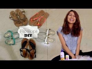 DIY Flip Flops For Summer! | Anusha Dandekar