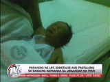Newsbytes - TV Patrol - Passenger details how baby was delivered on LRT